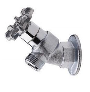 Acorn Engineering 8120 3/4 in. Rough Brass FNPT x MHT Loose Key Hose Bibb A8120CRLF
