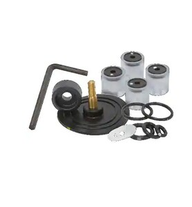 Iwaki Walchem PVC and EPDM Replacement Kit for EZ Series CWAEZC21D1VE Pumps WX21VEPK at Pollardwater