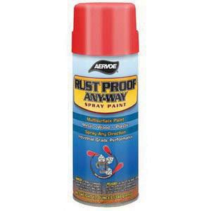 Aervoe Industries Any-Way 16 oz. Aerosol Solvent-Based Rust Proof Spray Paint in Fluorescent Blue AER312