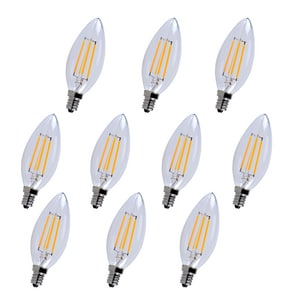 Elegant Lighting 25W Dimmable LED Light Bulb with Candelabra Base EE12LED103