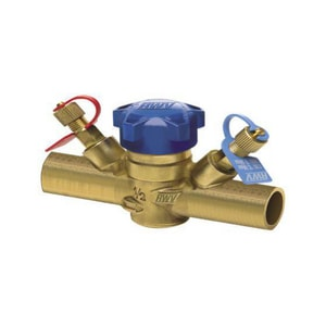 Red-White Valve 9527AB 1 in. Threaded Brass Balanced Globe Valve R9527ABG