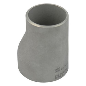 1-1/2 x 1/2 in. Schedule 40 Eccentric 304L Stainless Steel Reducer IS44LWER