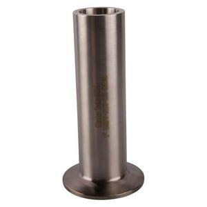 Topline Process Equipment 1-1/2 in. Clamp x Weld 316L Stainless Steel Ferrule T14WLMP6J