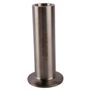 Topline Process Equipment 1/2 in. Clamp x Weld 316L Stainless Steel Ferrule TL14AM76D