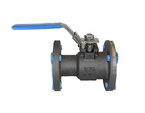 Series 9300 6 in. 316 Stainless Steel Flanged 300# Ball Valve J9300313600XTZ2U