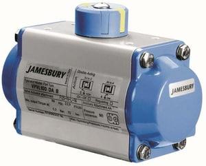 Jamesbury Valv-Powr® Pneumatic Aluminum and Stainless Steel Actuator JVPVL600SR6BD