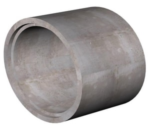 Rinker/Cemex 42 in. x 8 ft. Cement Lined Reinforced Gasketed Concrete Pipe RRCP42C