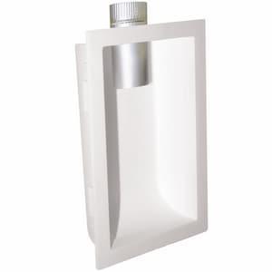 Deflecto 10-1/4 x 17-5/16 x 4 in. Dryer Vent Box Polystyrene DDVBOX
