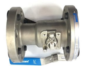 Jamesbury Series 7300 3 in. 316 Stainless Steel Standard Port Flanged 300# Ball Valve J7300313600XTZ2M