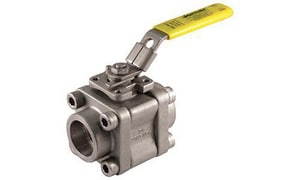 Series 4000 3/4 in. Carbon Steel NPT 2500# Ball Valve J4ATG2236XTB1F