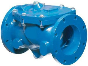 Val-Matic Valve 4 in. Ductile Iron Flanged Check Valve V7804LW