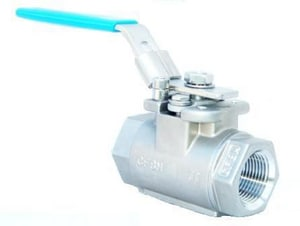 Eliminator™ 1-1/2 in. CF8M Stainless Steel NPT 2000# Ball Valve J9FA3600XTJH
