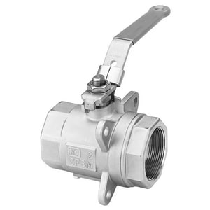 Value-Line® Series 5H 3/4 in. Carbon Steel Screwed 4500# Ball Valve J5H22HBRTF