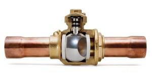 Henry Technologies 3/8 in. ODS Brass Full Port Ball Valve H93720
