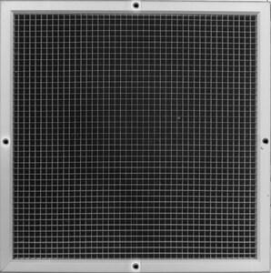 PROSELECT® 24 x 16 in. Aluminum Egg Crate Filter Grille in White PSAEC5FG2416
