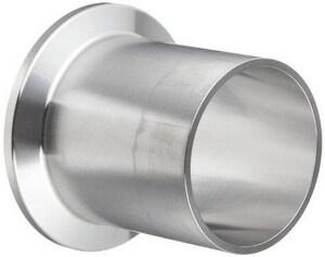 Dixon Valve & Coupling 3/4 in. Weld 316L Stainless Steel Ferrule DTL14AM7075PM