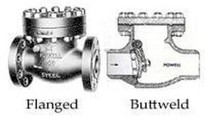 William Powell Co Figure 1561 10 in. Cast Carbon Steel Flanged Swing Check Valve P1561FC8GXXX
