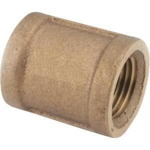 Mueller Company 3/4 x 1/2 in. Brass Reducing Coupling MH1508300NFD