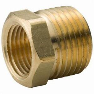 Figure 36HB1L 2 x 1-1/2 in. Threaded Reducing Brass Hex Bushing IBRLFHBKJ