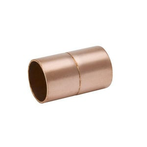 Streamline® 2 in. Copper Coupling with Stop MW01072