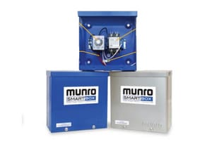 Munro 24/110/120/220/240V Stainless Steel Enclosure MMPLC24S