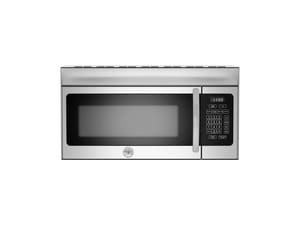 Bertazzoni Spa Professional® Series 10A 1.5 cf 1450W Over the Range Convection Microwave in Stainless Steel BKOTR30XT