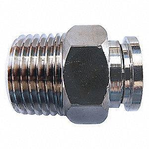 DK-Lok USA 3/4 in. OD Tube x FNPT 316 Stainless Steel Connector DDMC1212NS