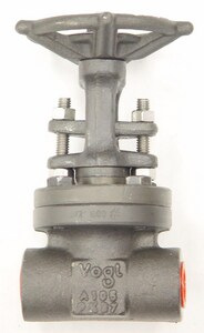 Vogt Valves 1/2 in. Forged Steel Full Port Socket Weld Gate Valve VSW13111
