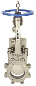 FNW® Figure 2000B 18 in. 316 Stainless Steel Flanged Knife Gate Valve FNW2000BT18