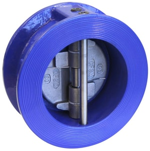 FNW 682 2-1/2 in. Epoxy Coated Cast Iron Wafer Check Valve FNW682