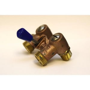 PROFLO® 1/2 x 3/4 in. Brass MPT x MHT Shut Off Valve PFT11D