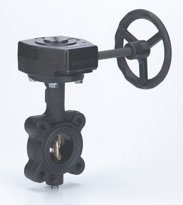 Milwaukee Valve CL Series 2-1/2 in. Cast Iron EPDM Gear Operator Handle Butterfly Valve MCL323E