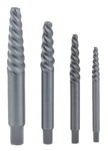 Irwin Industrial Tool Hanson® Spiral Screw Extractor Set (4 Piece) I52425 at Pollardwater
