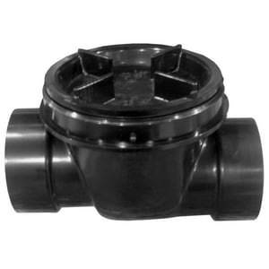 3 in. ABS Hub and Socket Backwater Valve PF42915