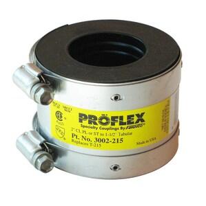 Fernco Proflex® 2 x 1-1/2 in. Cast Iron x Tubular Flexible Coupling F3002215