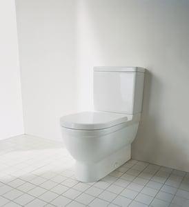 Duravit Starck 3 1.28 gpf Toilet Tank in White D0920400004