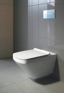 Duravit DuraStyle Elongated Closed Front With Cover in White D0060510000
