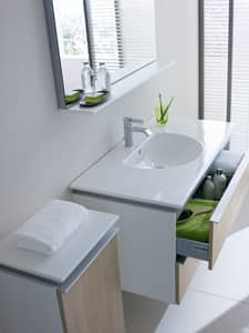 Duravit Darling New Wall Mount Bathroom Sink in White Alpin D0499830000
