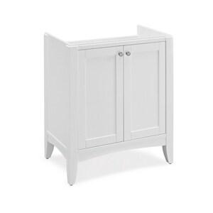 Fairmont Designs Shaker Americana Hardwood Veneer Vanity in Polar White F1512V3018