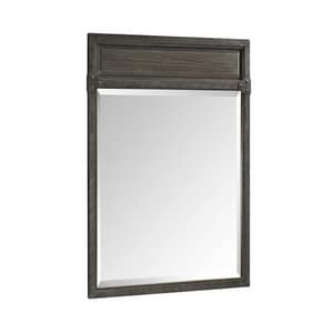 Fairmont Designs Toledo 34 x 24 in. Framed Rectangle Mirror in Driftwood Grey F1401M24