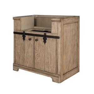Fairmont Designs Homestead 36 x 22 x 34-1/2 in. Floor Mount Wood Vanity in Windswept Pine F1526FV36