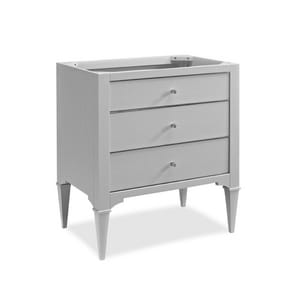 Fairmont Designs Charlottesville 34-1/2 x 30 in. Vanity in Light Grey F1510V30