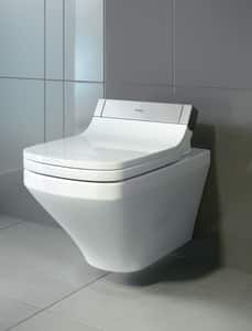 Duravit DuraStyle 1.6 gpf Elongated Wall Mount One Piece Toilet in White D2542590092
