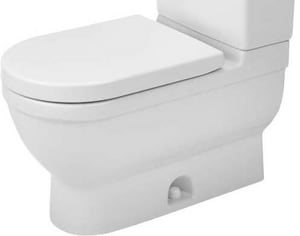 Duravit Starck 3 Elongated Toilet Bowl in White D2125010000
