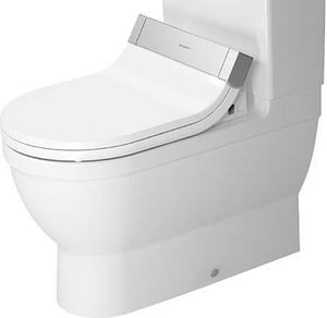 Duravit Starck 3 1.6 gpf Elongated Toilet in White D2141590092