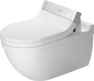 Duravit Starck 3 1.6 gpf Elongated Wall Mount One Piece Toilet in White D2226590092