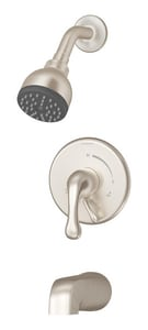 Symmons Industries Identity™ Wall Mount Tub and Shower System Trim with Single Lever Handle in Satin Nickel SYMS6702TRMSTN