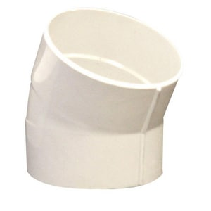 12 in. Bell End Gasket Straight CL150 PVC 22-1/2 Degree Elbow for C900 Pipe MUL273675