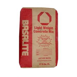 Basalite Concrete 50 lbs. Pakmix Bag Fast Set Concrete B100002751