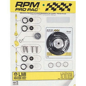LMI LMI PVC Repair Kit for Liquipro Series G Motor Pumps LRPM135 at Pollardwater